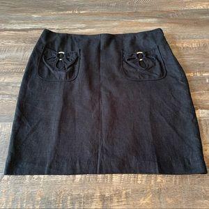 🌻3/20 ice size 12 black skirt